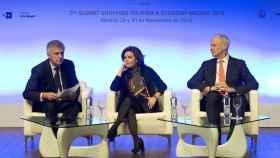 La vicepresidenta Soraya Sáenz de Santamaría en la inauguración del Summit Shopping Tourism & Economy.