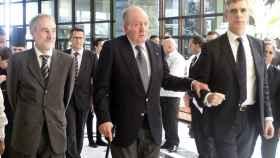 El rey emérito Juan Carlos I a su llegada al hotel Meliá Habana.