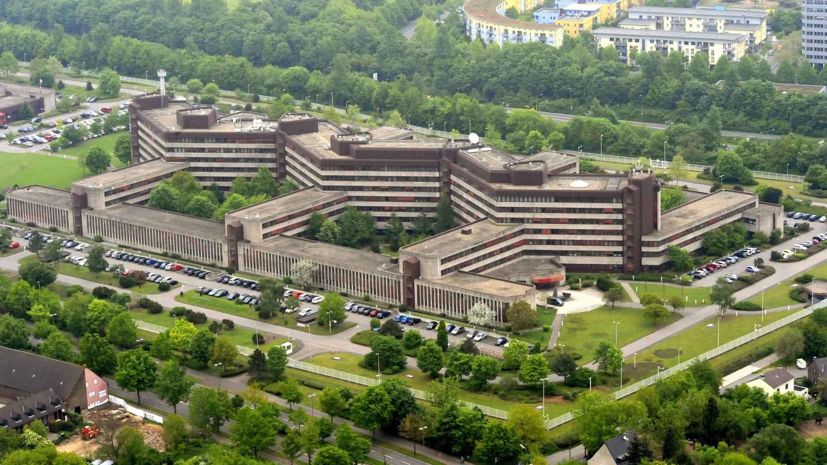 Sede central de los servicios de inteligencia alemanes BfV en Colonia.
