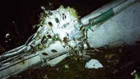 Restos de la aeronave