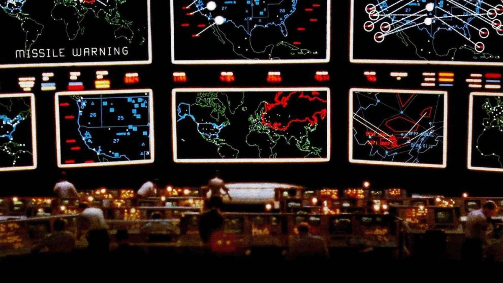 Fotograma de la película Juegos de Guerra (John Badham, 1983)