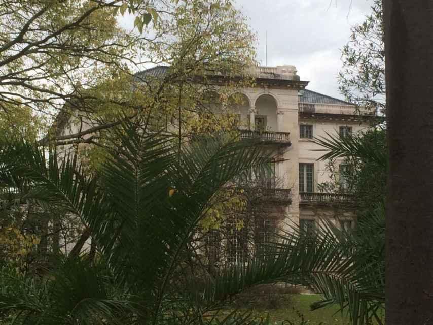 El palacio de Aga Khan.