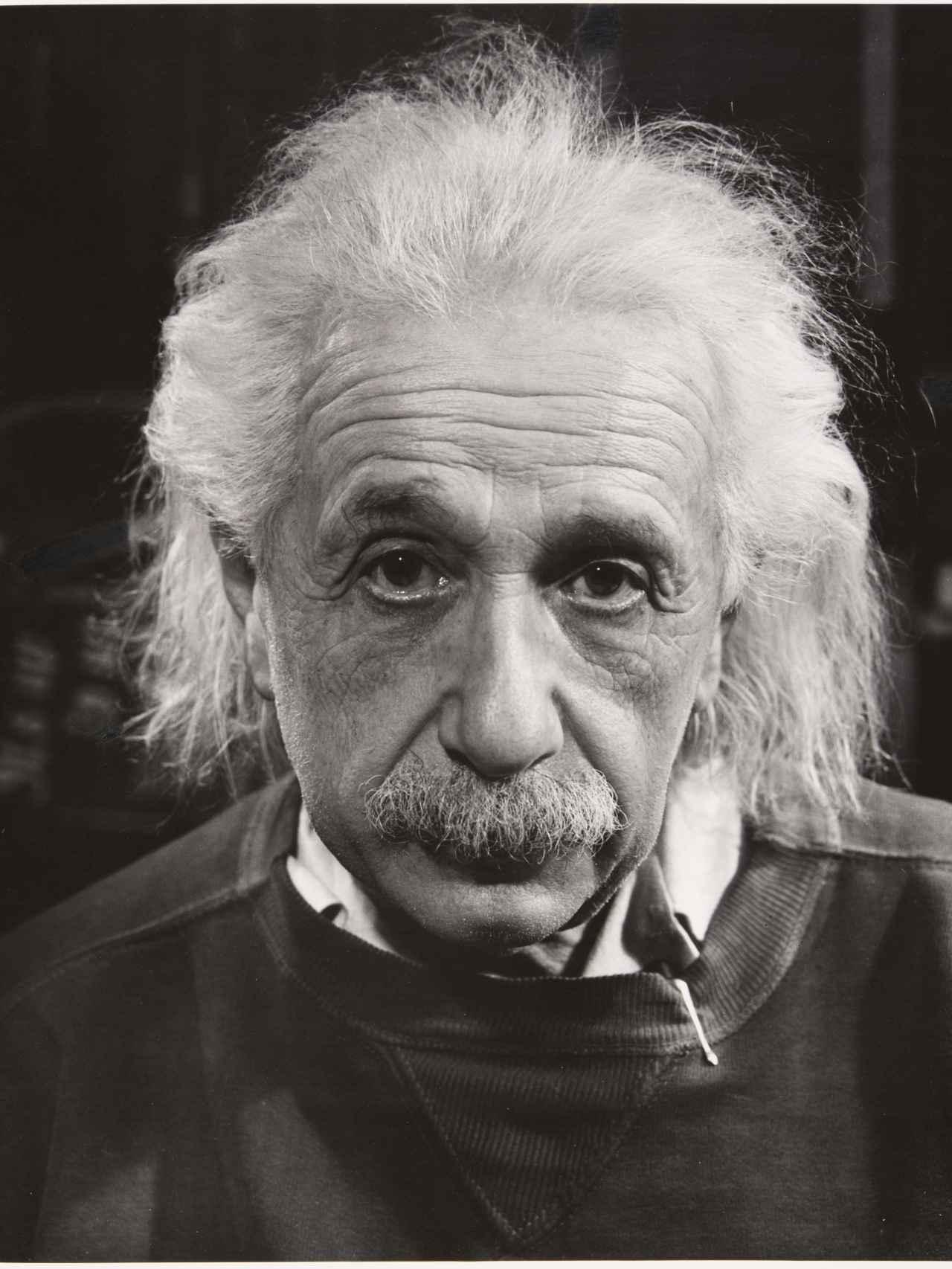 Einstein, por Philippe Halsman.