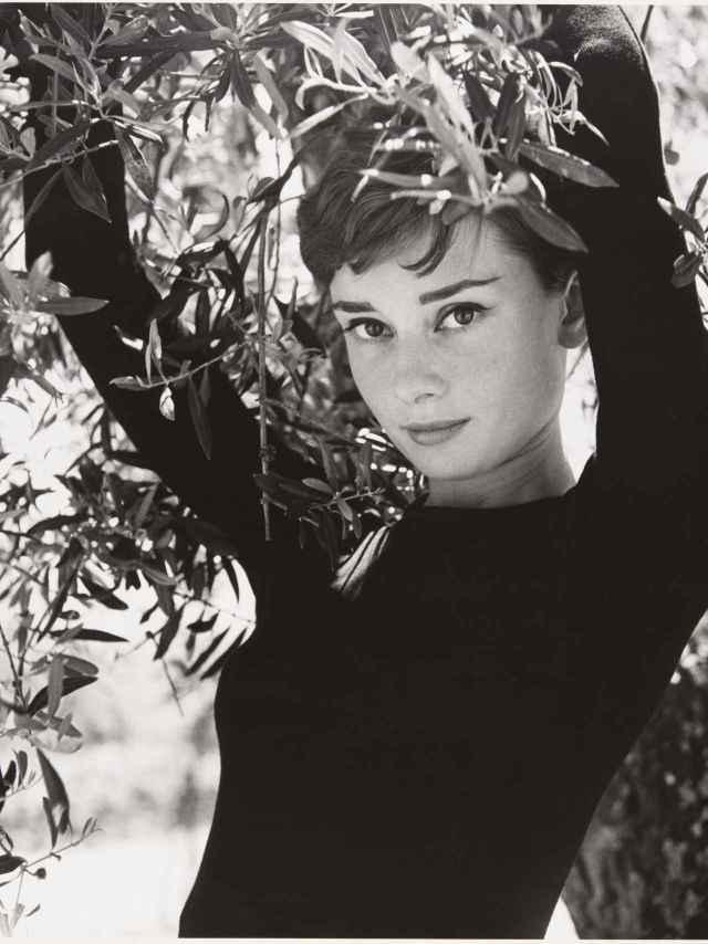 Audrey Hepburn, por Philippe Halsman.