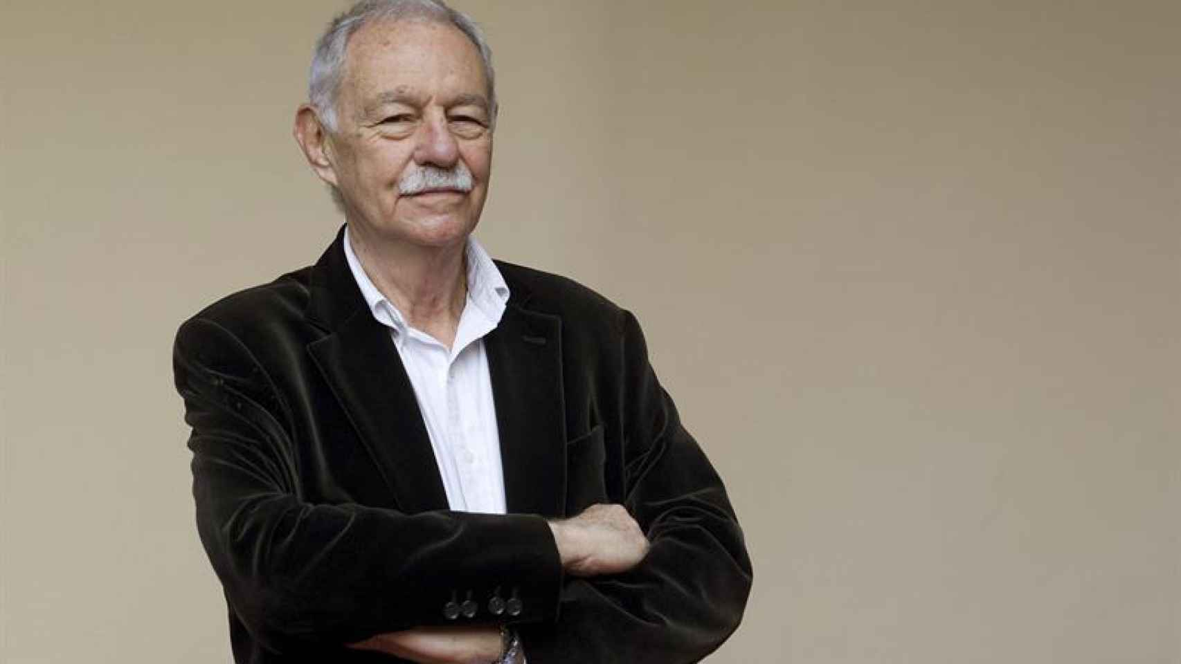 El Premio Cervantes 2016 Eduardo Mendoza.