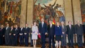 El rey FelipeVI en la Asamblea de la República de Portugal