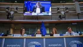 La presidenta andaluza ha exhibido músculo diplomático en Bruselas