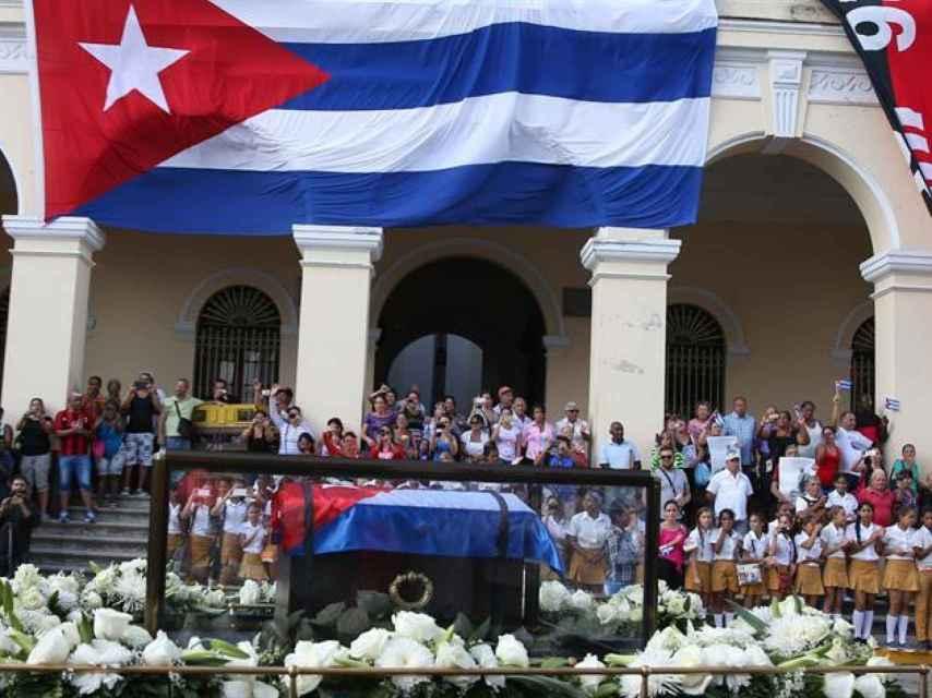 El último viaje del mandatario cubano, Fidel Castro.