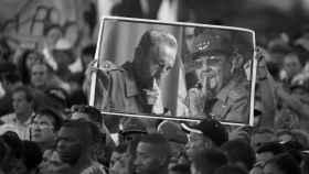 Tributo en La Habana a los hermanos Castro por el fallecimiento de Fidel.