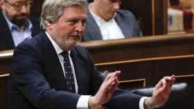 El ministro de Educación, Méndez de Vigo, en el Congreso