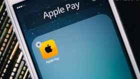 La aplicación Apple Pay instalada en un iPhone.
