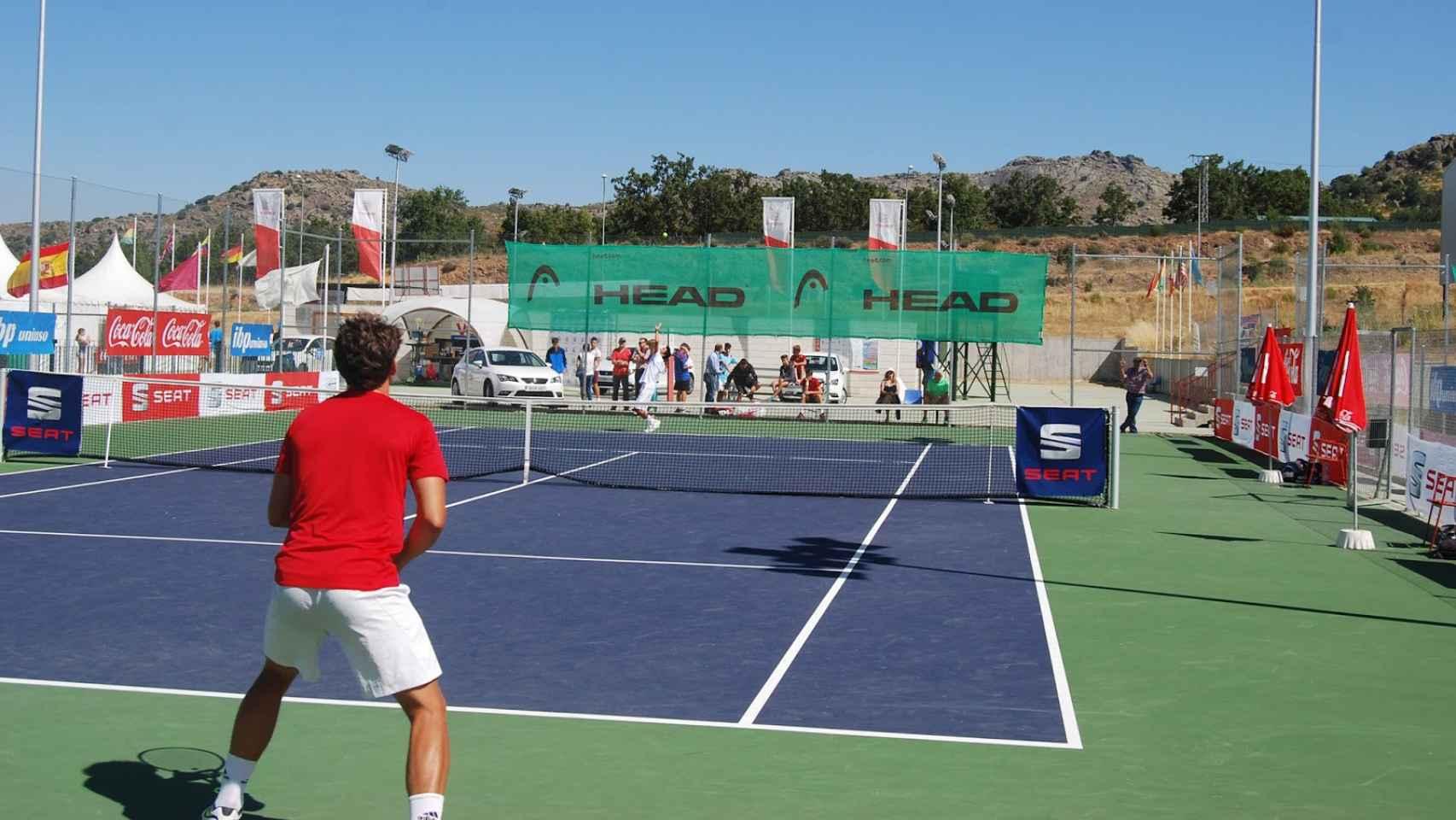 Imagen de un torneo Future en España.