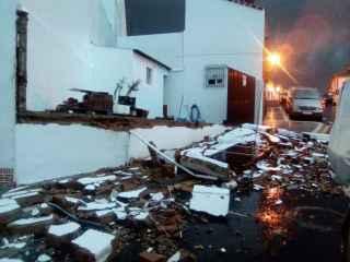 Los destrozos provocados por el tornado.