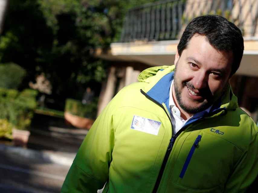 El eurodiputado Matteo Salvini ha reformado la otrora regional Liga Norte.