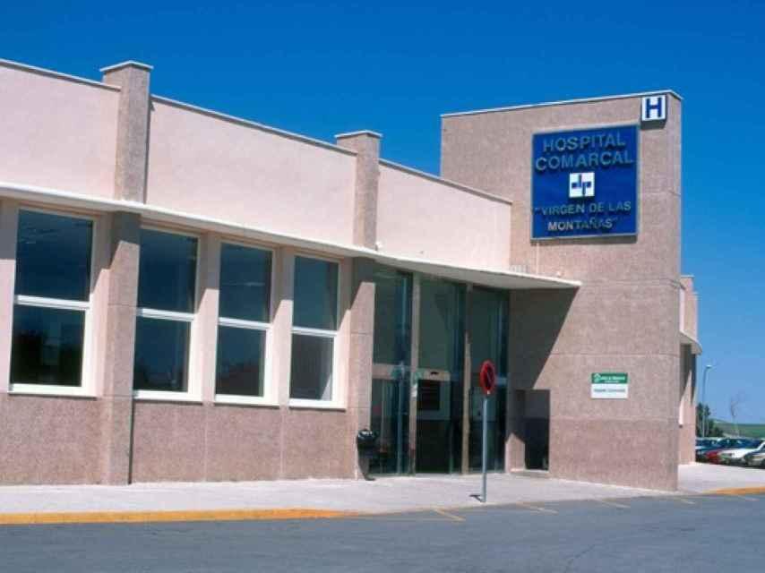 Hospital comarcal de Villamartín, donde dio a luz Sonia Calvente.