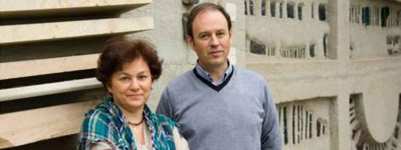 Pilar Montero y Francisco Morales, ambos del CSIC.