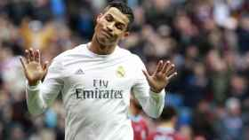 El futbolista del Real Madrid Cristiano Ronaldo.