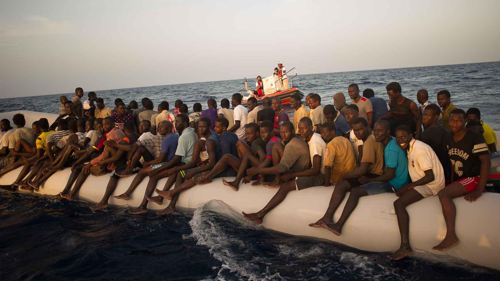 MSF ha rescatado a unas 20.000 personas entre abril y noviembre.