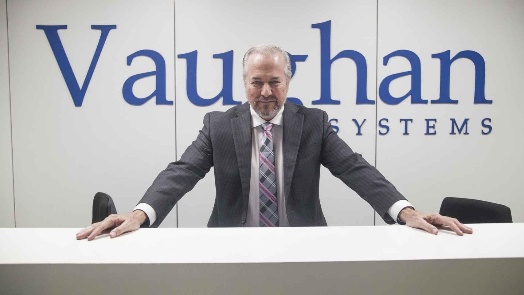 Richard Vaughan uno de los profesores de inglés más mediáticos.