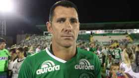 El exportero José Nivaldo se libró del accidente al haber quedado en reserva.
