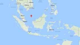 La aeronave se habría estrellado en el mar, cerca de las islas Riau (norte indonesio).
