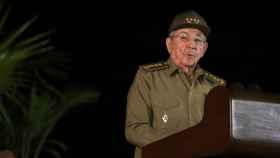 Raúl Castro, durante un discurso de homenaje a Fidel