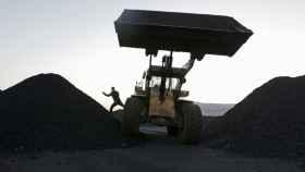 Minas de carbón en China.