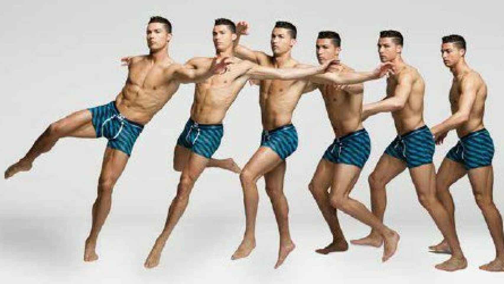 Cristiano Ronaldo, en una imagen promocional