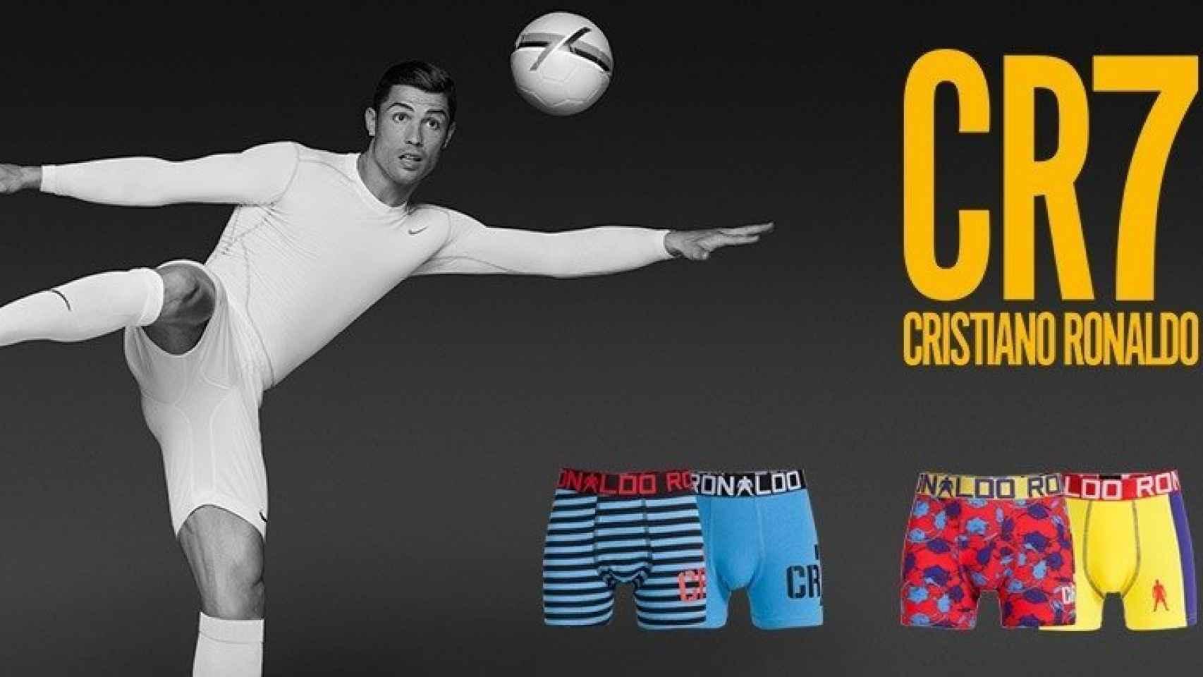La última colección de CR7 Underwear, la más vendida