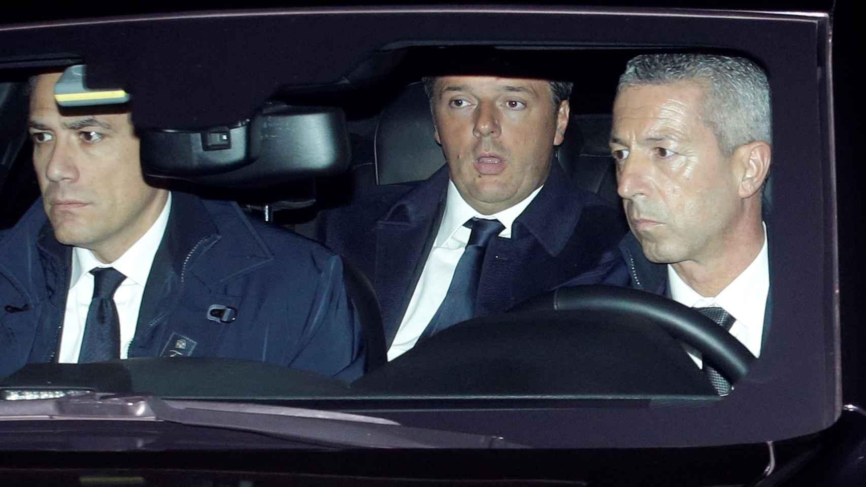 Renzi, tras reunirse este lunes con Mattarella