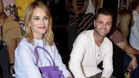 Alba y Fonsi el pasado mes de octubre en un desfile de moda infantil en el que participó el pequeño Lucas