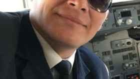 Imagen del piloto de del avión del Chapecoense, Miguel Quiroga.