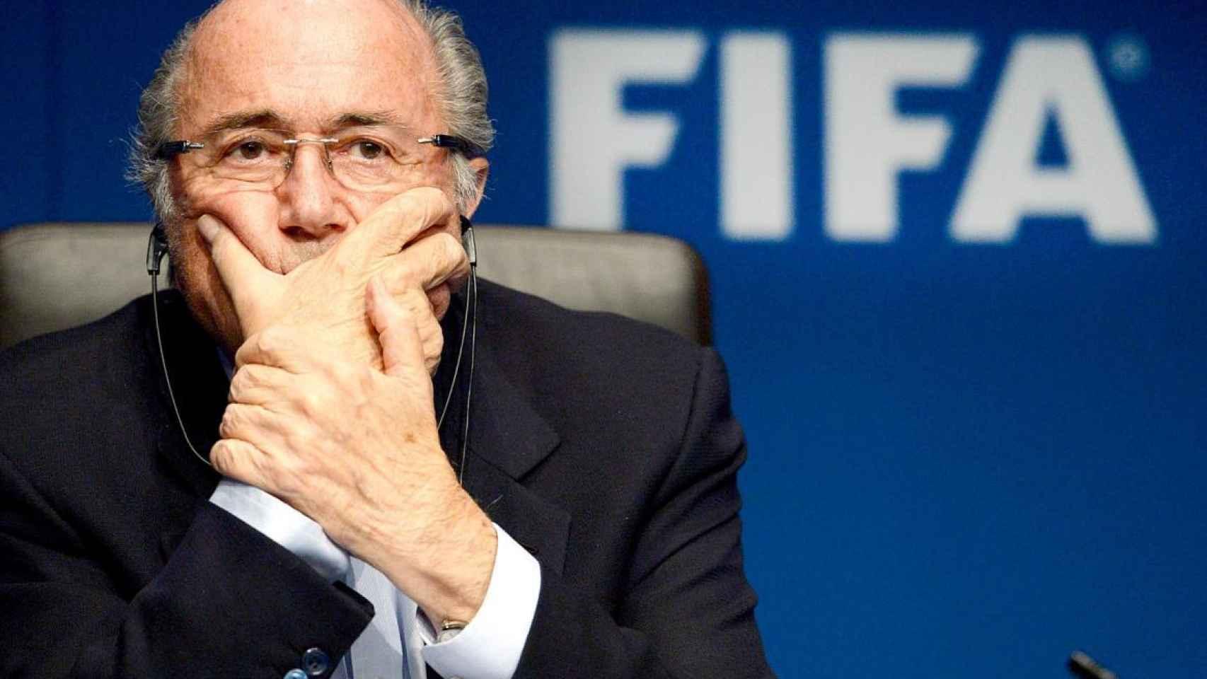Joseph Blatter en una imagen de archivo.