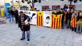 Actos en el Ayuntamiento de Rubí (Barcelona)