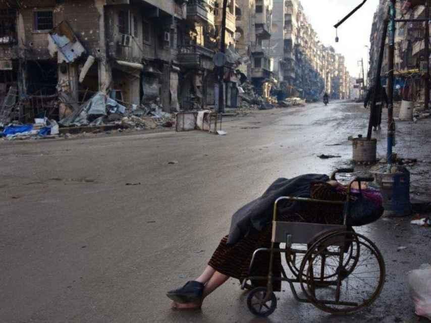 Según informan desde la agencia Anadolu, Sabah Muhammed murió en Alepo esperando un médico.