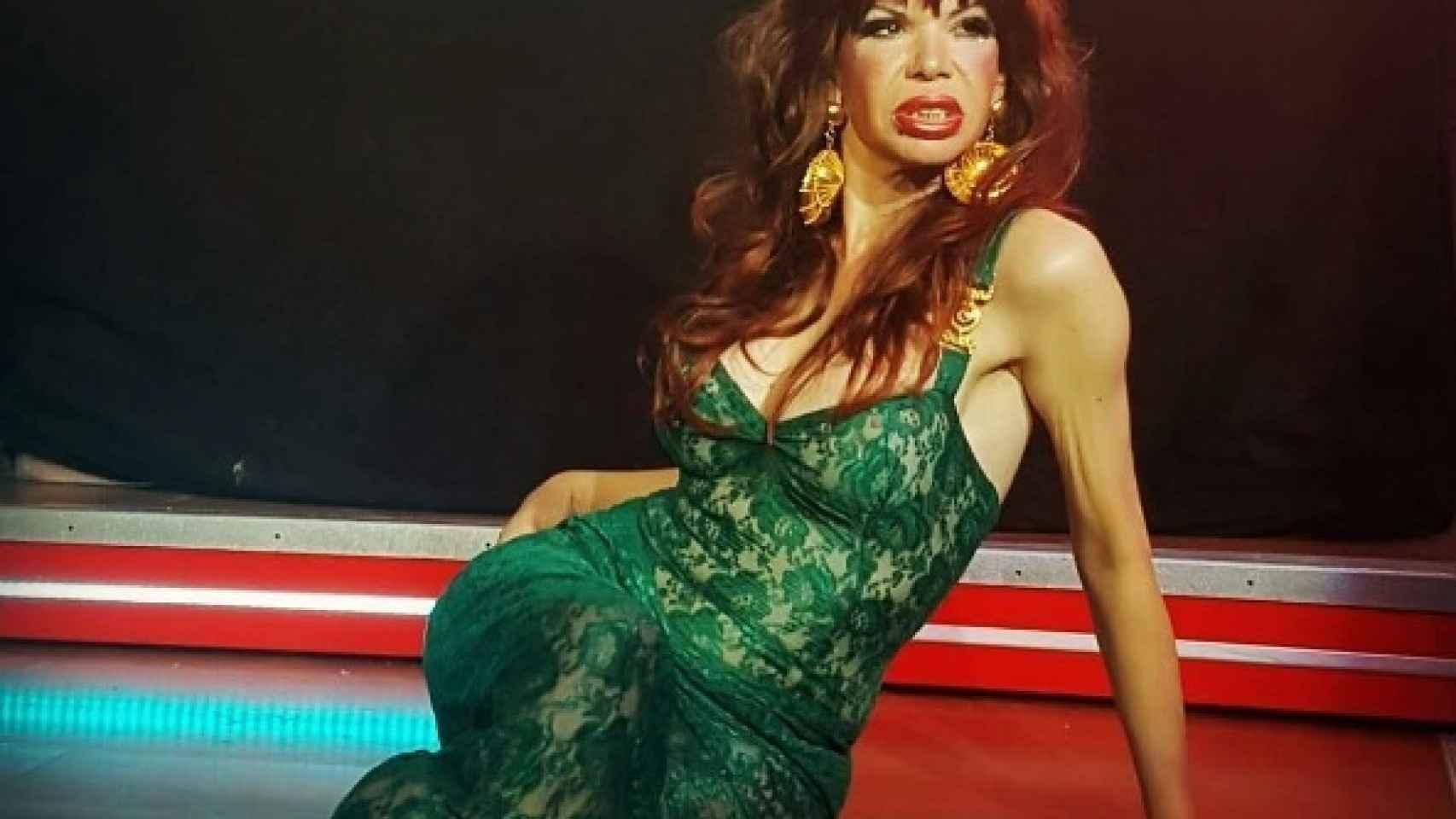 Cristina Ortiz en una de sus últimas imágenes.