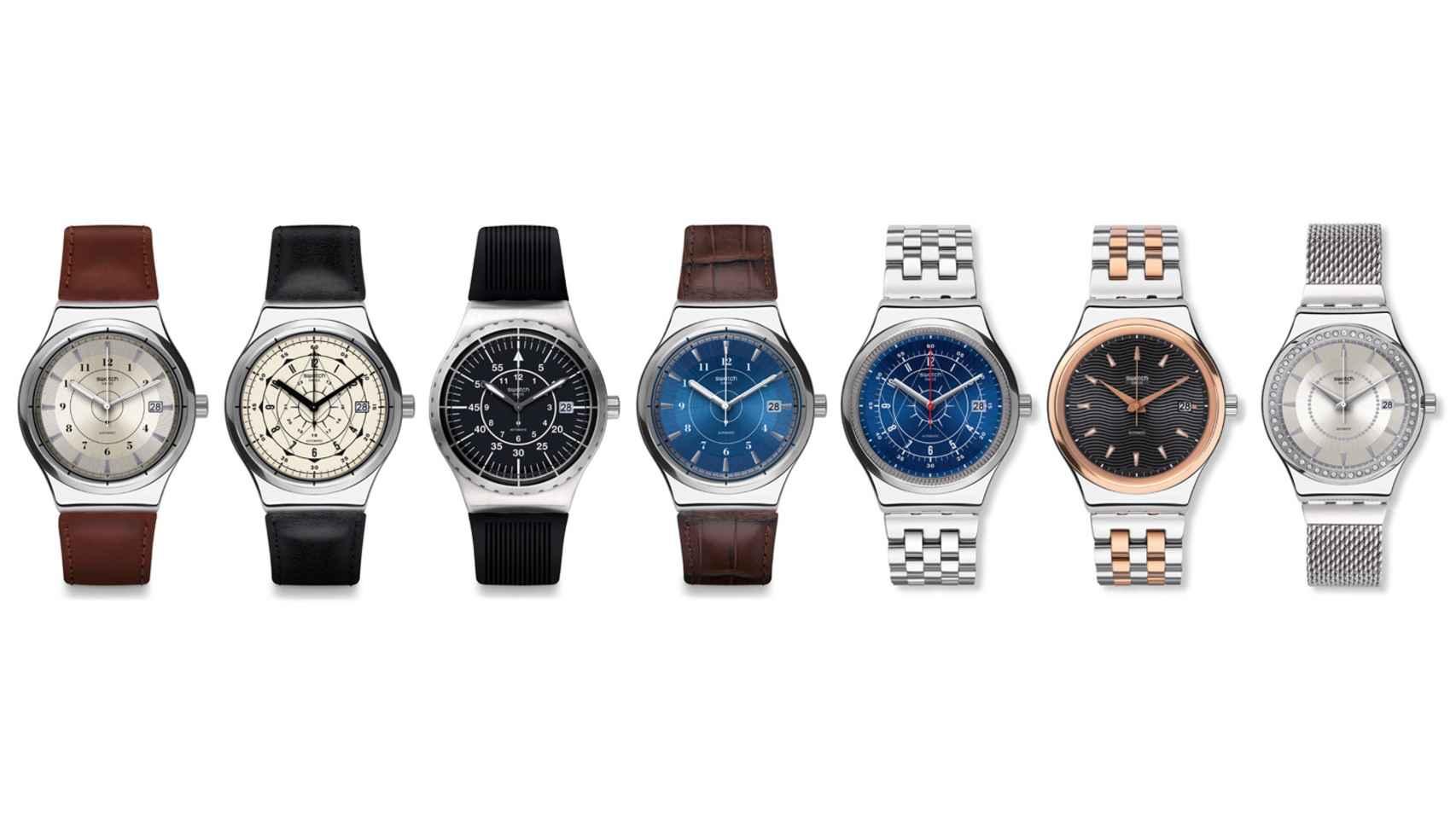 reloj mecnico en metal que ronda los uac el swatch sistem irony segn modelos sus precios oscilan entre los y los uac un regalo excelente