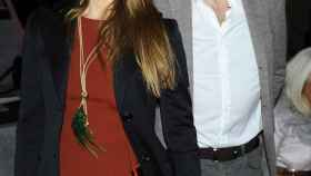 Imanol Arias e Irene Meritxell en un acto en febrero de este año.