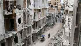 El casco viejo de Alepo ha caído en manos de Asad.