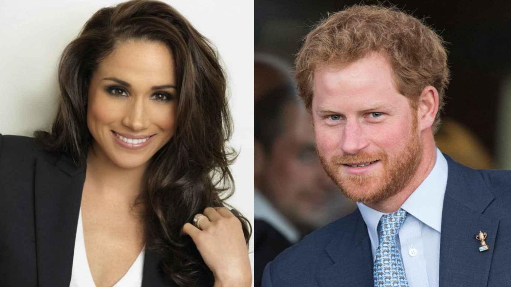 Meghan Markle y el príncipe Harry preparan su boda para 2017.