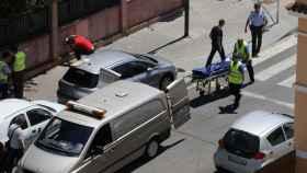 Levantamiento del cadáver del médico jubilado apuñalado el año pasado en Lleida
