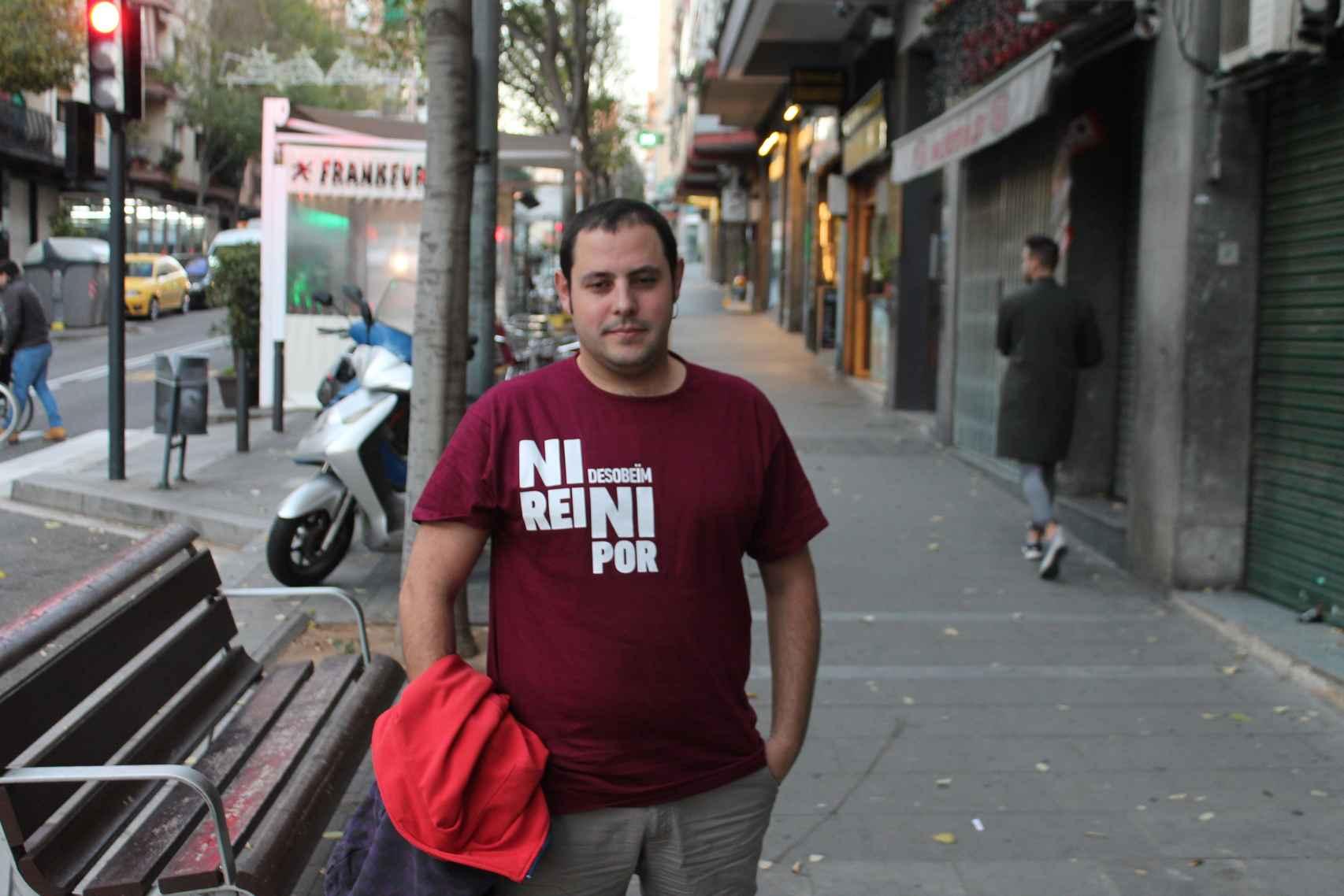 Aitor Blanc i Aranjuelo es concejal en Santa Coloma de Gramenet (Barcelona).