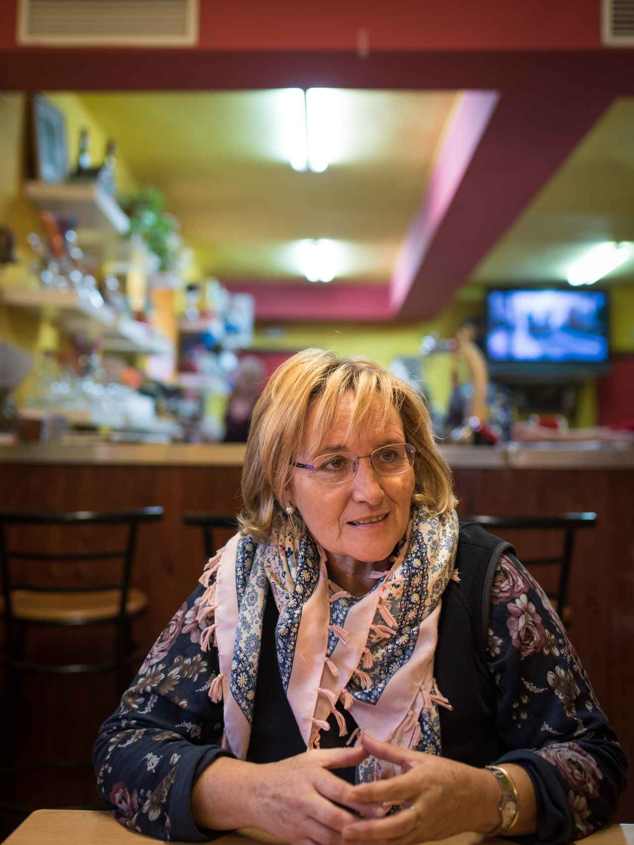 Rosa Pons, exalcaldesa de Sodeto, pueblo donde tocó El Gordo de la Lotería en el año 2011.