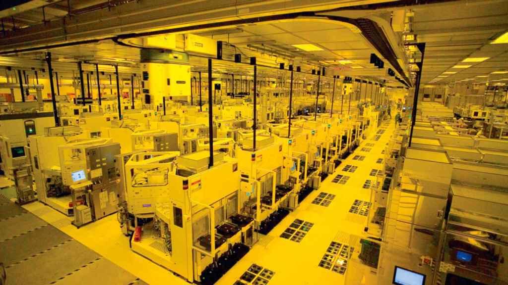 Factoría de fabricación de TSMC.