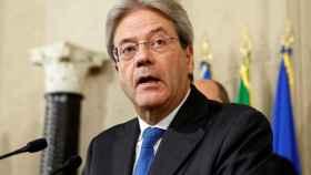 Paolo Gentiloni, tras recibir el encargo de intentar formar gobierno.