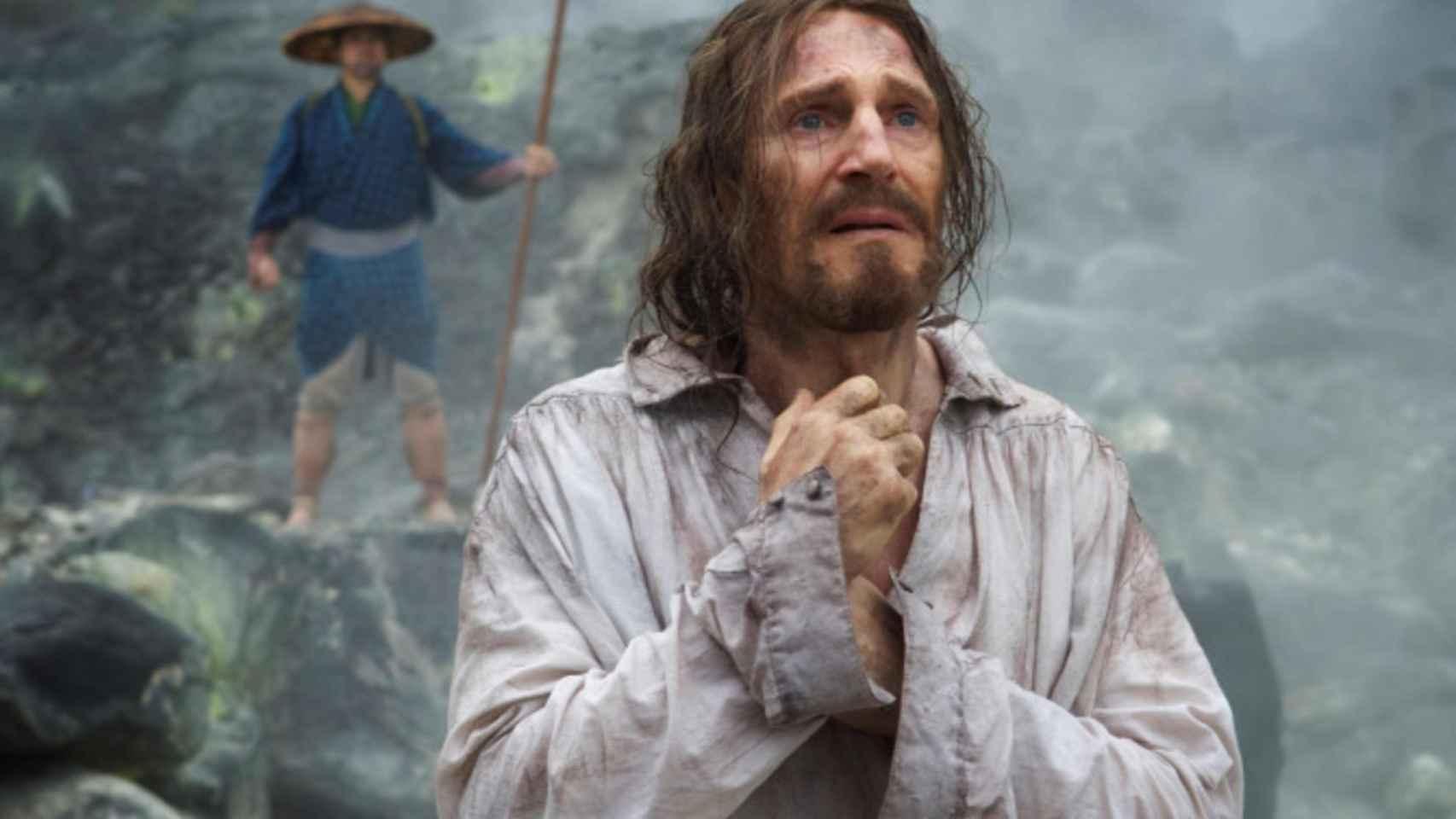 Liam Neeson en Silencio, de Martin Scorsese, la gran ausente.