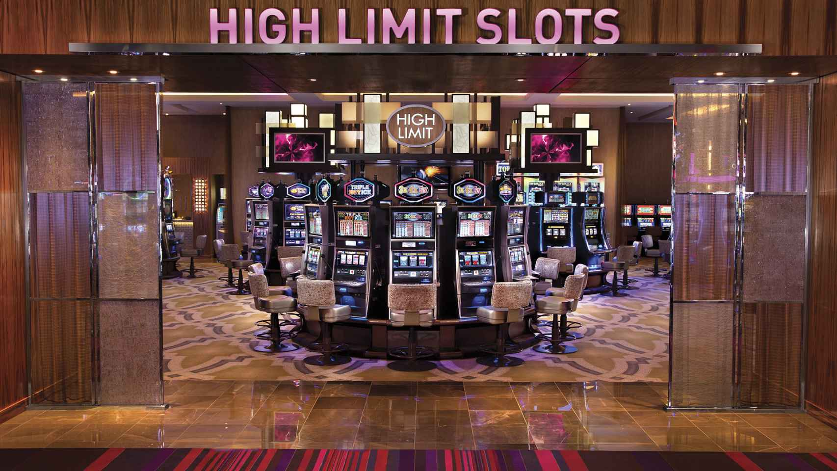 Interior de un casino del grupo Cordish.
