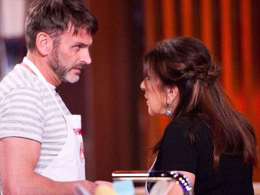 Fernando Tejero y Loles León durante el programa.