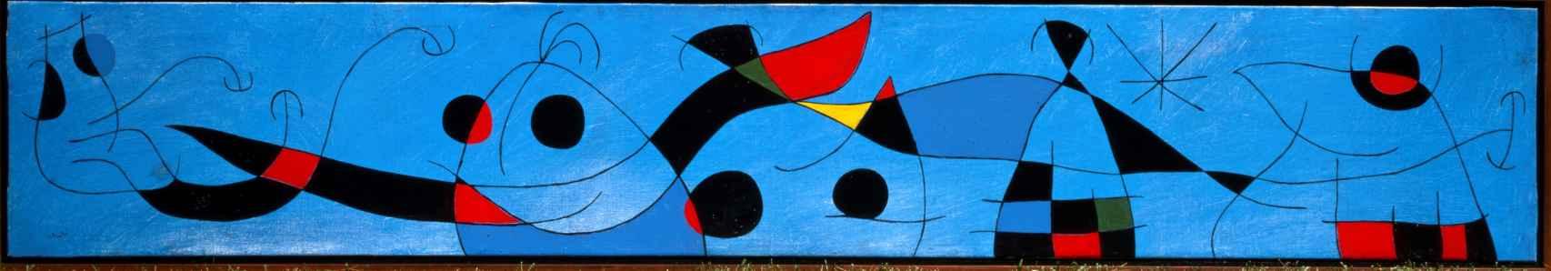 Para David Fernández Miró, 1965, Joan Miró