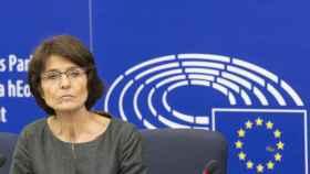 La comisaria de Asuntos Sociales, Marianne Thyssen, durante la presentación de sus propuestas